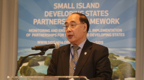 Launch of new partnerships and commitments for the sustainable development of Small Island Developing States